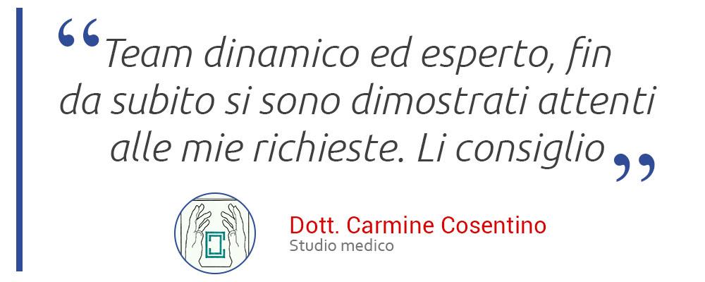 Recensione Carmine Cosentino